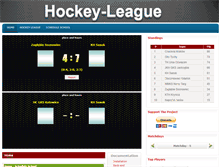Tablet Preview of hockeyleague.jarek.yum.pl